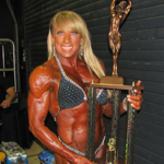 Rhonda with trophy